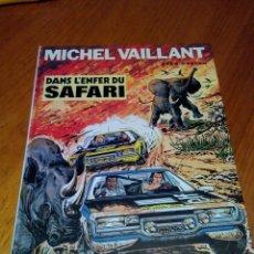 Cómics: MICHEL VAILLANT DANS L´ENFER DU SAFARI 1975 JEAN GRATON. DRAGAUD. . Lote 52370907