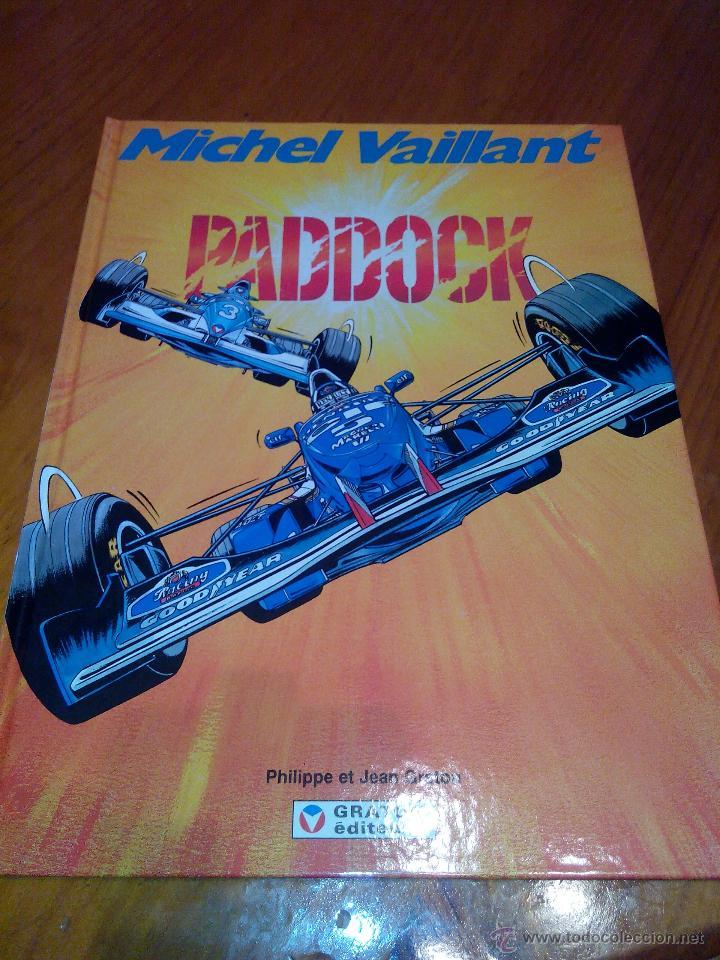 MICHEL VAILLANT PADDOCK Nº 58 EDI GRATON 1995, EDICION ORIGINAL. (Tebeos y Comics - Norma - Comic Europeo)