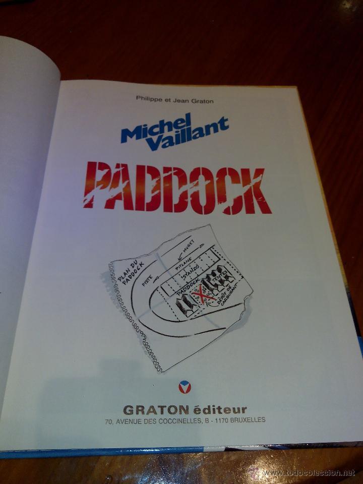 Cómics: michel vaillant paddock nº 58 edi graton 1995, edicion original. - Foto 3 - 52373069