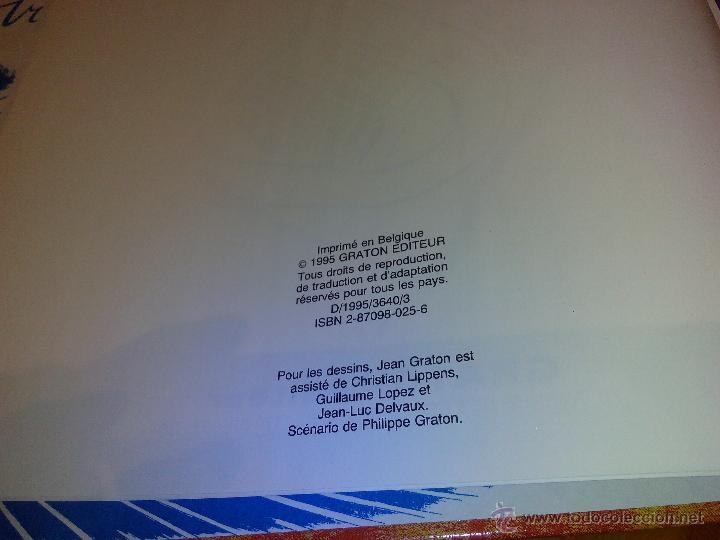 Cómics: michel vaillant paddock nº 58 edi graton 1995, edicion original. - Foto 4 - 52373069