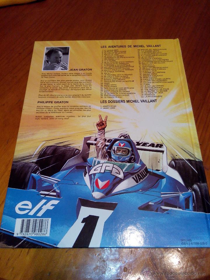 Cómics: michel vaillant paddock nº 58 edi graton 1995, edicion original. - Foto 8 - 52373069