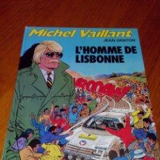 Cómics: MICHEL VAILLANT L´HOMME DE LISBONNENº 45 EDI GRATON 1984. Lote 52374470