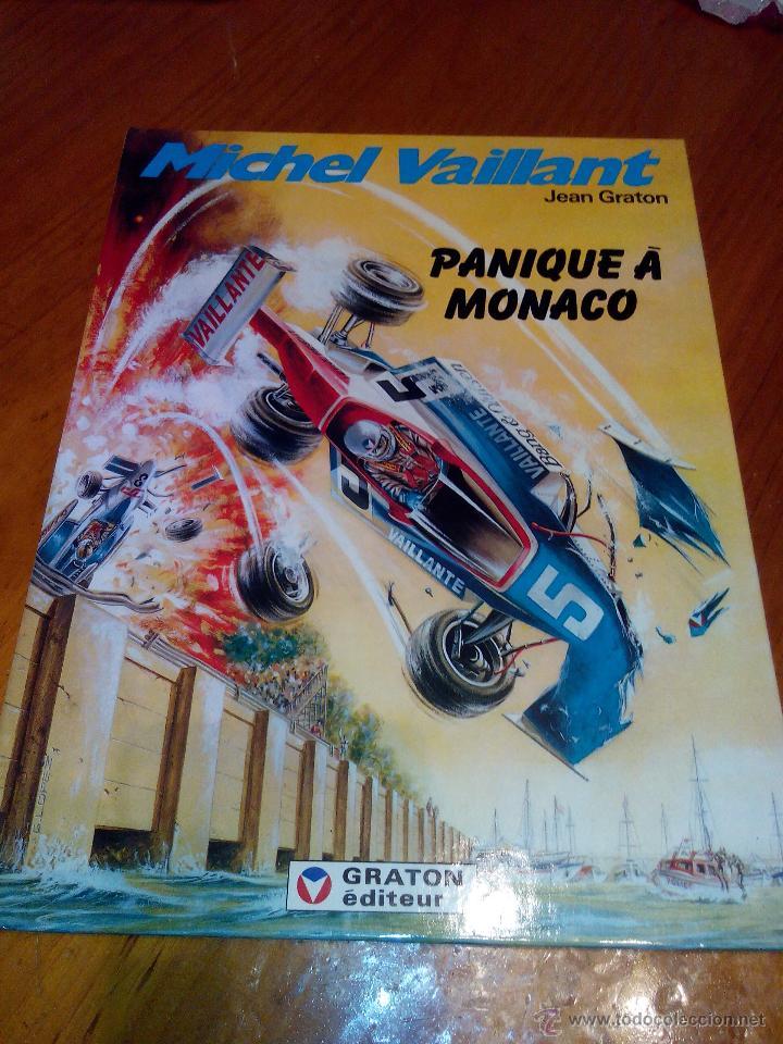 MICHEL VAILLANT PANIQUE A MONACO Nº 47. 1986 GRATON (Tebeos y Comics - Norma - Comic Europeo)