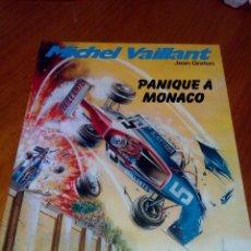 Cómics: MICHEL VAILLANT PANIQUE A MONACO Nº 47. 1986 GRATON. Lote 52376298