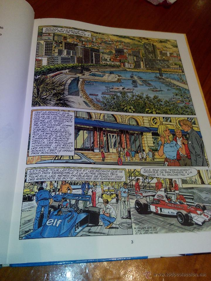 Cómics: michel vaillant panique a monaco nº 47. 1986 graton - Foto 6 - 52376298