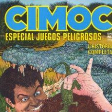 Cómics: CIMOC Nº8. ESPECIAL JUEGOS PELIGROSOS. NORMA, 2001 . Lote 52486151