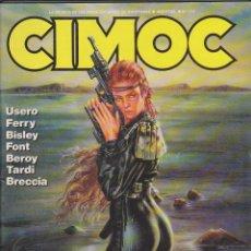 Cómics: CIMOC - NÚM. 114 - USERO, FERRY, BISLEY, FONT, BEROY, TARDI, BRECCIA. Lote 52544798