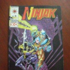 Cómics: NINJAK Nº 6 NORMA C5. Lote 52643952