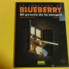 Comics: TENIENTE BLUEBERRY. Nº 34. EL PRECIO DE LA SANGRE. TAPA DURA. C-8.. Lote 117832930