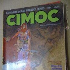 Cómics: CIMOC. Nº 27. NORMA EDITORIAL. Lote 52698759