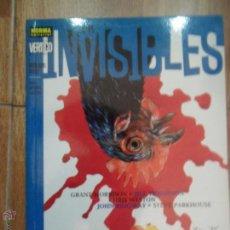 Cómics: LOS INVISIBLES, MONSTRUOS REALES, GRANT MORRISON, ED. NORMA. Lote 52726844