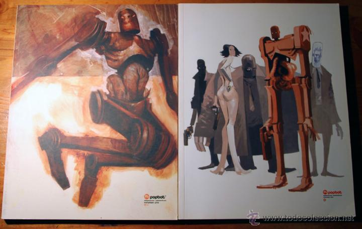POPBOT DE ASHLEY WOOD. TOMOS 1 Y 2. (Tebeos y Comics - Norma - Comic USA)