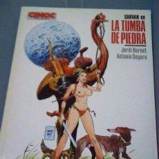 Cómics: SARVAN: LA TUMBA DE PIEDRA - JORDI BERNET & ANTONIO SEGURA CIMOC/NORMA ED.1986. Lote 52772183