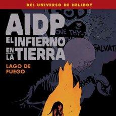 Fumetti: CÓMICS. AIDP 25: EL INFIERNO EN LA TIERRA 8. LAGO DE FUEGO - MIKE MIGNOLA/JOHN ARCUDI/TYLER CROOK/D. Lote 152965893