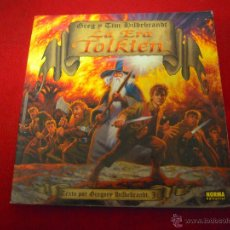 Cómics: LA ERA TOLKIEN - GREG & HIDELBRANDT - LIBRO DE ILUSTRACIONES - RUSTICA 27 X 27 X1. Lote 52853886