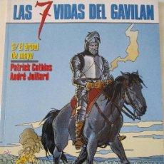 Cómics: LAS 7 VIDAS DE GAVILAN. Lote 52866265