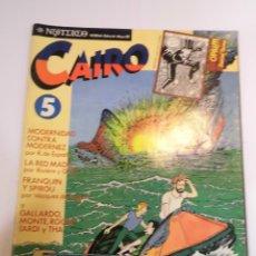 Cómics: CAIRO - NUM 5 - NORMA EDITORIAL - 1972/1983. Lote 52868933