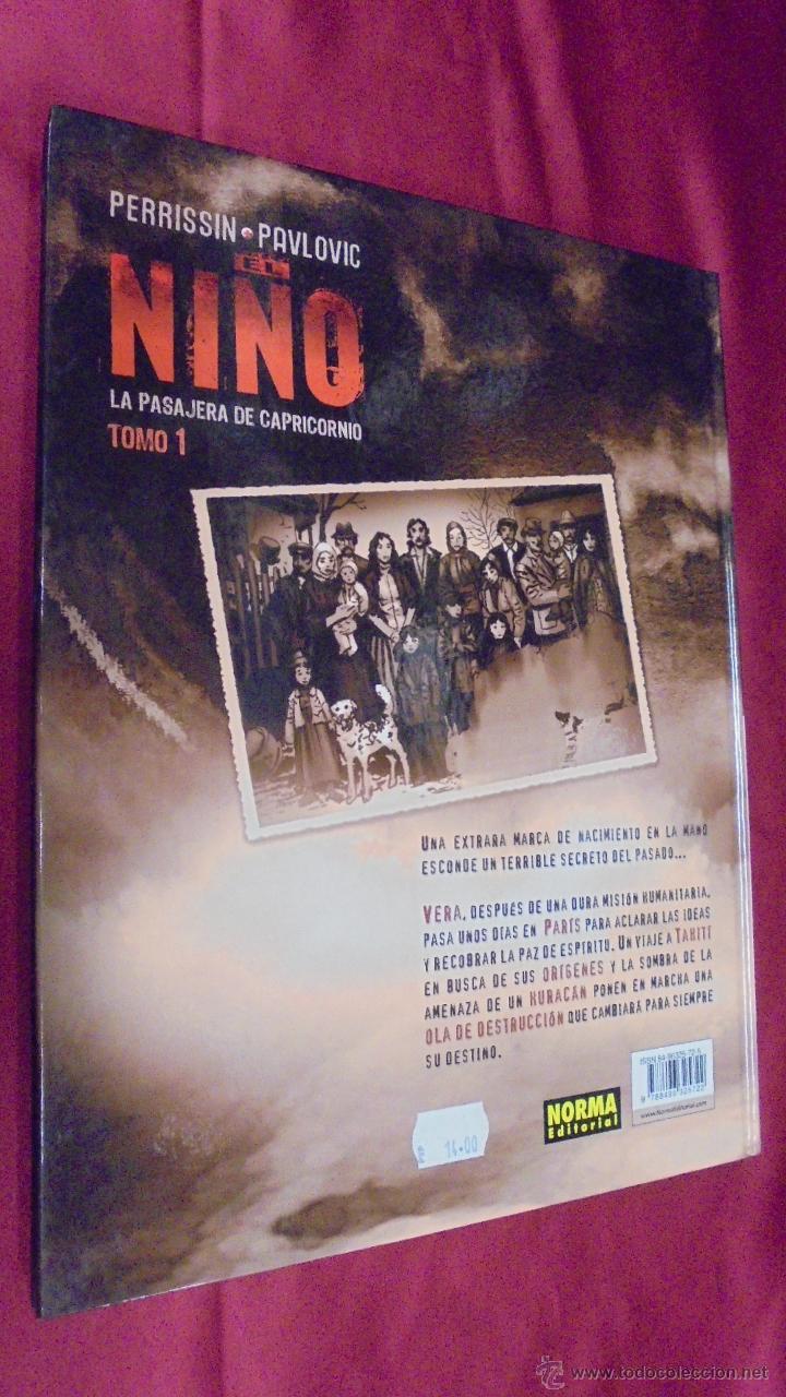 Cómics: EL NIÑO. TOMO 1. LA PASAJERA DE CAPRICORNIO. NORMA EDITORIAL. - Foto 4 - 52891725