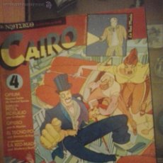 Comics: CAIRO Nº 4 - NORMA EDITORIAL. Lote 52950180
