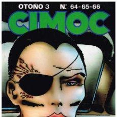Cómics: TOMO CIMOC RECOPILA NUMEROS 64-65-66.NORMA EDITORIAL.. Lote 52966392