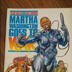 Cómics: MARTHA WASHINGTON GOES TO WAR 5. ULTIMO NUMERO. FRANK MILLER, DAVE GIBBONS. . Lote 53008419