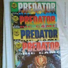Cómics: PREDATOR -BIG- GAME - COMPLETA DE 4 NºS - NORMA COMIC BOOKS - GA. Lote 96021224