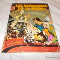 Cómics: LOS ROBINSONES DE LA TIERRA DEDICADO POR ALFONSO FONT. Lote 53156443