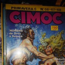 Cómics: CIMOC PRIMAVERA 6 NUMERO 66 67 68 NUMEROS UN TOMO. Lote 53192259