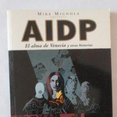 Cómics: AIDP EL ALMA DE VENECIA NORMA EDITORIAL. Lote 53205934