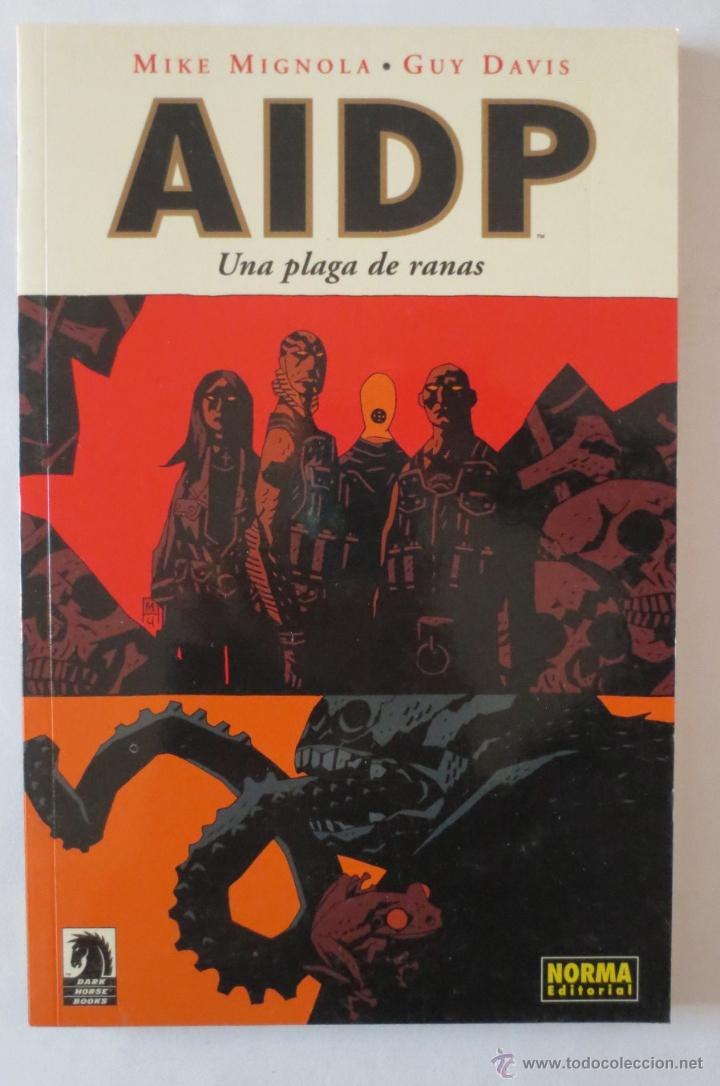 AIDP UNA PLAGA DE RANAS NORMA EDITORIAL (Tebeos y Comics - Norma - Comic USA)