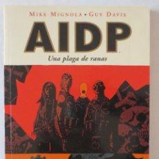 Cómics: AIDP UNA PLAGA DE RANAS NORMA EDITORIAL. Lote 53206004