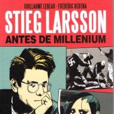 Cómics: STIEG LARSSON,ANTES DE MILLENIUM,.ANATOMÍA DE UNA OBRA.NORMA EDITORIAL. Lote 53849260