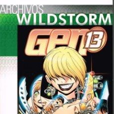 Cómics: ARCHIVOS WILDSTORM.GEN13.NÚMERO 9. NORMA EDITORIAL.. Lote 53287856