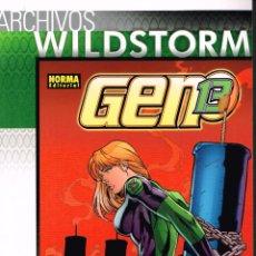 Cómics: ARCHIVOS WILDSTORM. GEN13 ,NÚMERO 7.NORMA EDITORIAL.. Lote 53287990
