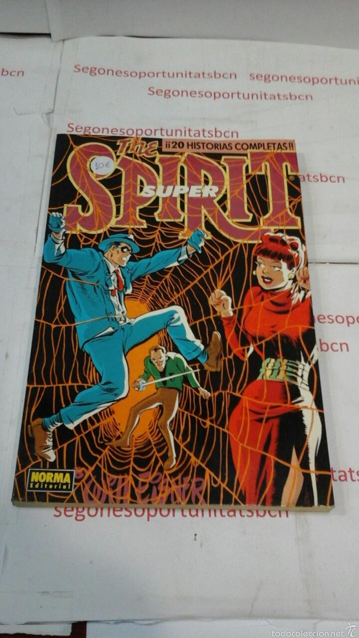 THE SUPER SPIRIT - 20 HISTORIAS COMPLETAS - TOMO 3 - NORMA (Tebeos y Comics - Norma - Otros)