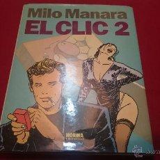 Cómics: MILO MANARA EL CLIC 2 TAPA DURA - REF MG. Lote 53343745