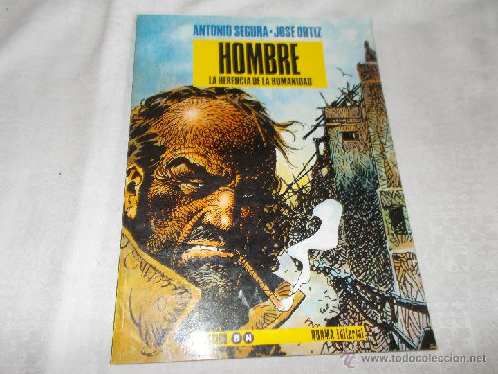 HOMBRE LA HERENCIA DE LA HUMANIDAD (Tebeos y Comics - Norma - Otros)