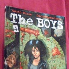 Cómics: THE BOYS. Nº 4. GARTH ENNIS. NORMA EDITORIAL.. Lote 53377523