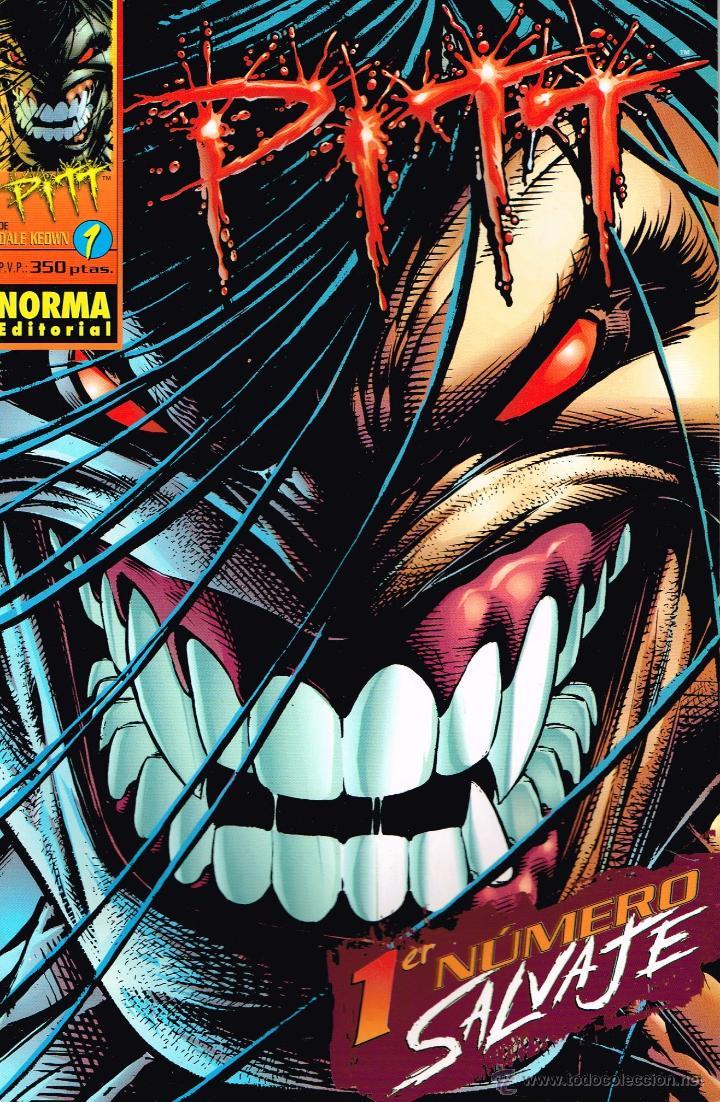 PITT,SALVAJE.DALE KEOWN.SERIE COMPLETA 1 AL 12 .NORMA EDITORIAL. (Tebeos y Comics - Norma - Comic USA)