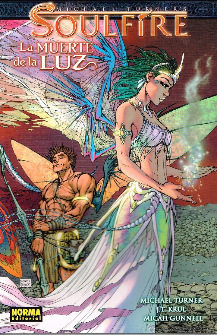 SOULFÍRE,LA MUERTE DE LA LUZ. NORMA EDITORIAL (Tebeos y Comics - Norma - Comic USA)