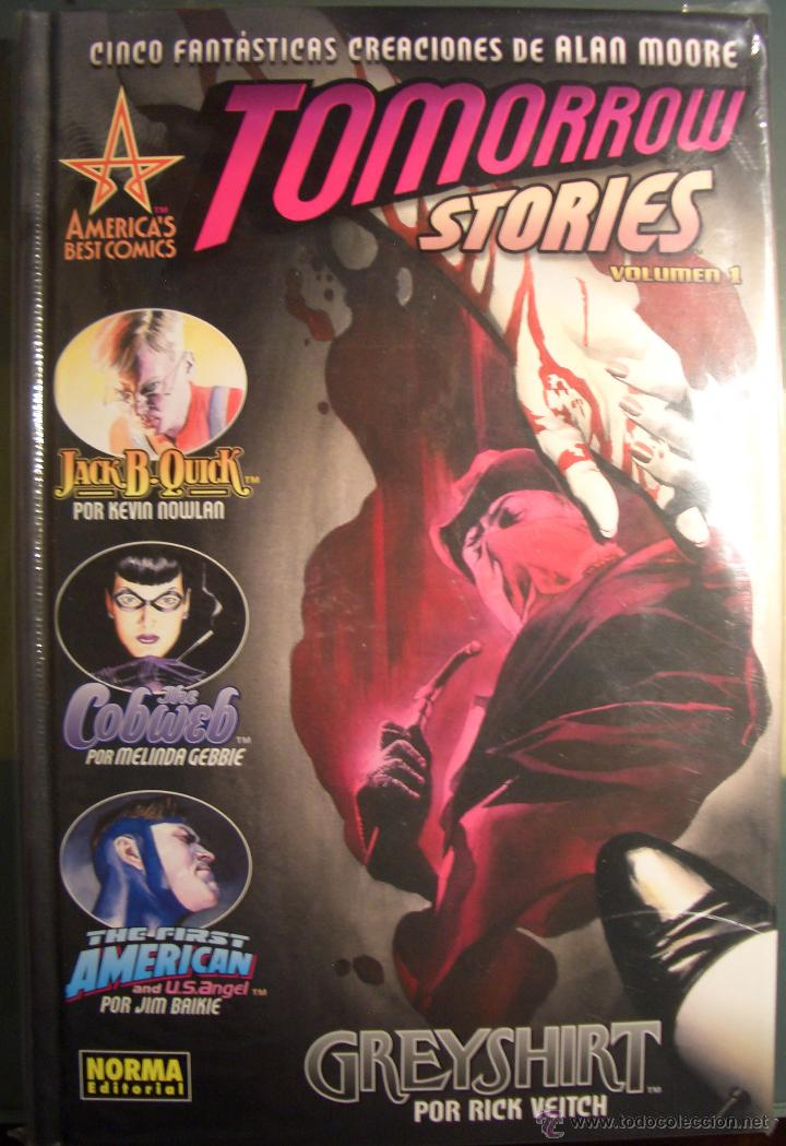 TOMORROW STORIES Nº 1 - ALAN MOORE NORMA - 2009 (Tebeos y Comics - Norma - Comic USA)