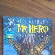 Cómics: MR. HERO. 5. THE NEWMATIC MAN. NEIL GAIMAN´S. BUEN ESTADO. Lote 53567925