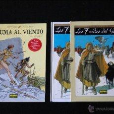 Cómics: LAS 7 VIDAS DEL GAVILÁN Y PLUMA AL VIENTO, EDICIONES INTEGRALES. JUILLARD Y COTHIAS.NORMA. 2004/2005. Lote 53647885