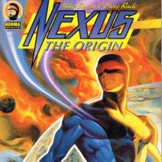 Cómics: NEXSUS. THE ORIGIN.MIKE BARON Y STEVE RUDE.NORMA EDITORIAL. Lote 53735461