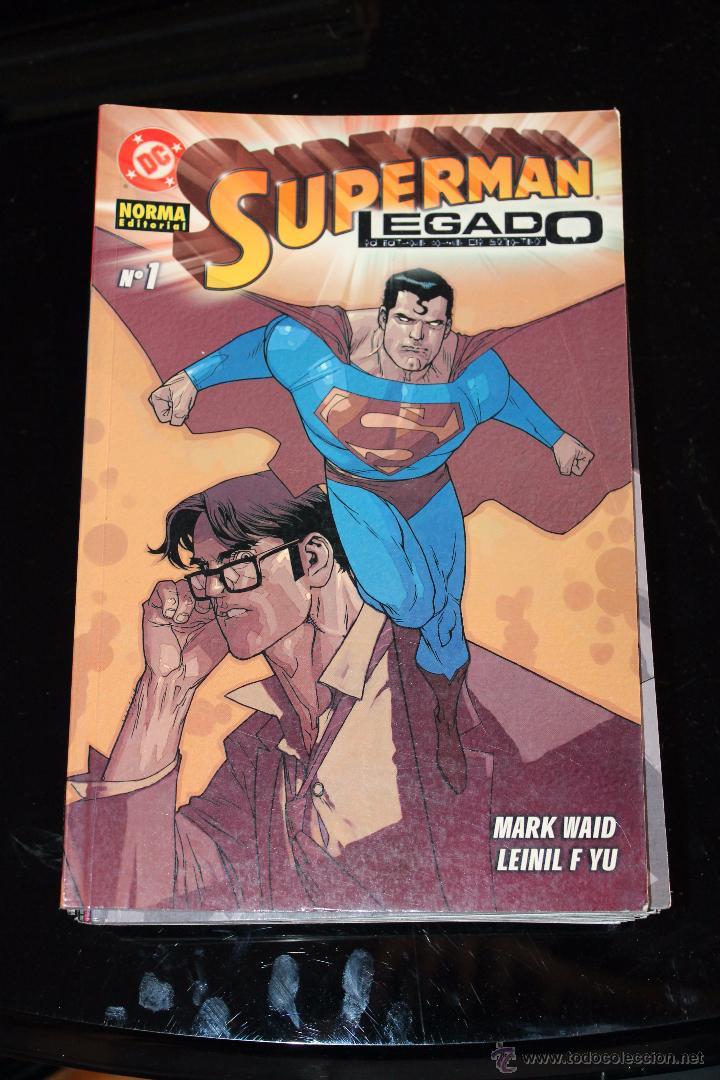 SUPERMAN LEGADO 1 NORMA (Tebeos y Comics - Norma - Comic USA)