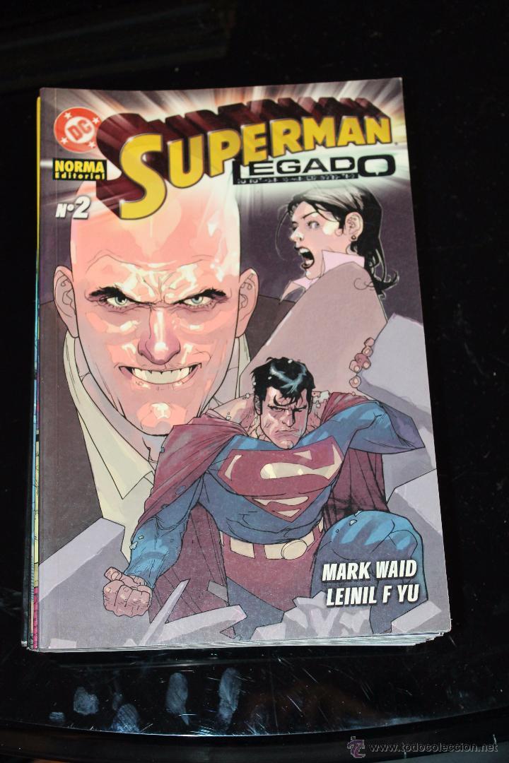 SUPERMAN LEGADO 2 NORMA (Tebeos y Comics - Norma - Comic USA)