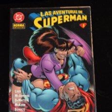 Fumetti: LAS AVENTURAS DE SUPERMAN 8 NORMA. Lote 53737296