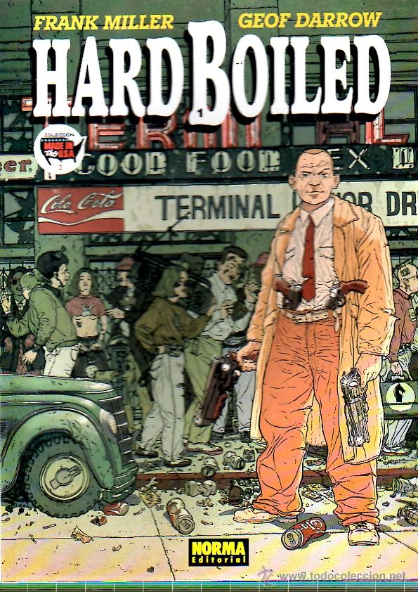 HARD BOILED 2. Nº 2. FRANK MILLER. GEOF DARROW. NORMA. AÑO 1991 (Tebeos y Comics - Norma - Comic USA)