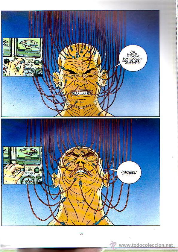 Cómics: HARD BOILED 2. Nº 2. FRANK MILLER. GEOF DARROW. NORMA. AÑO 1991 - Foto 2 - 53803280