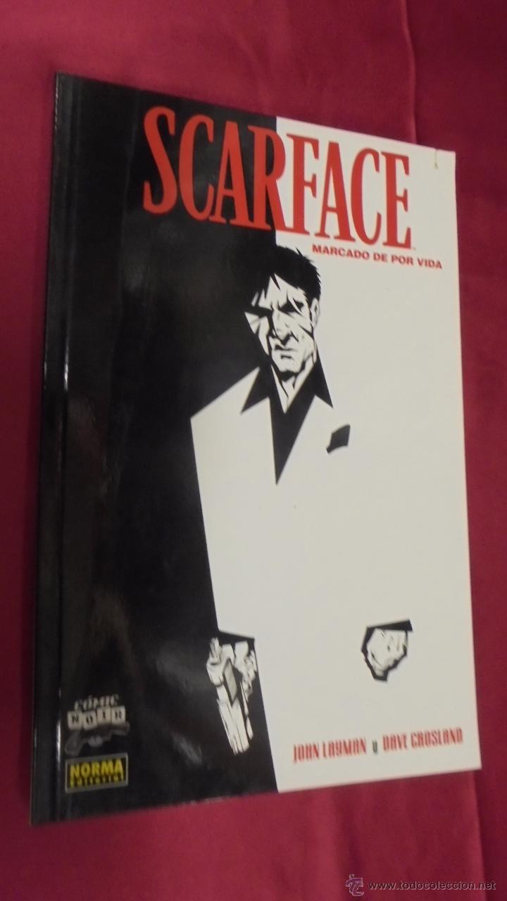 SCARFACE. MARCADO DE POR VIDA. COMIC NOIR . Nº 28. NORMA EDITORIAL. (Tebeos y Comics - Norma - Comic USA)